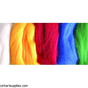 Felting Wool 50g Assorted