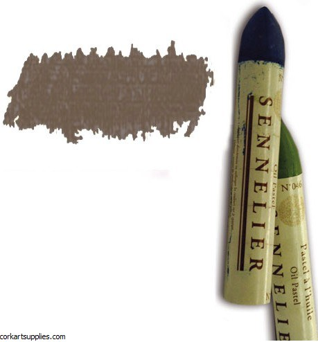 Sennelier Oil Pastel 38ml Burnt Umber