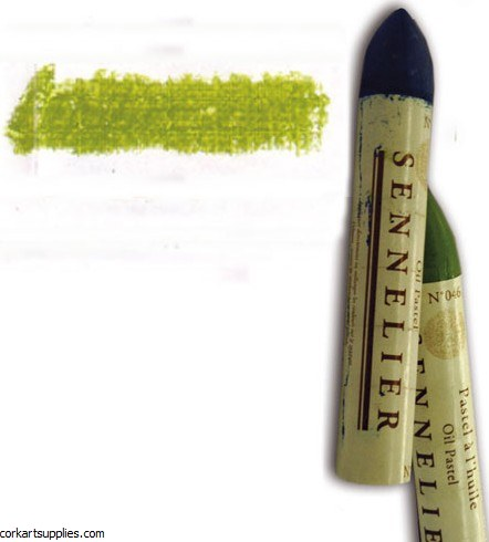 Sennelier Oil Pastel 38ml Chrome Green Light