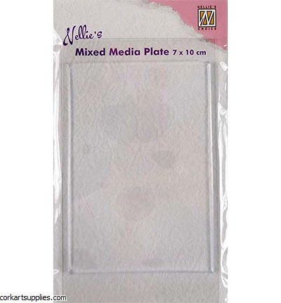 Nellie's Mixed Media Gel Plates 4mm 70x100mm