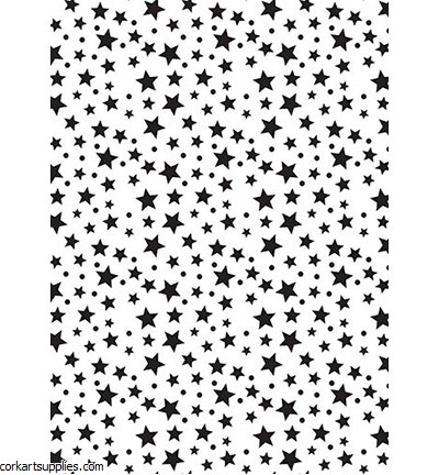 Stencil A5 Nellie's Stars