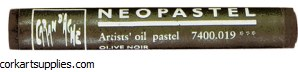 Neopastel 019 Olive Black