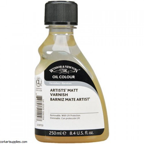Winsor & Newton 250ml Artists Matt Varnish