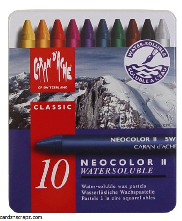 Neocolor II Tin Assorted 10 Pack