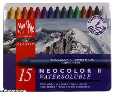 Neocolor II Tin Assorted 15 Pack