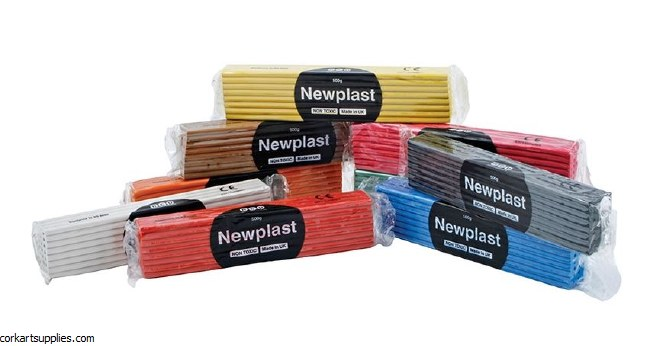 Newplast 500gm Black
