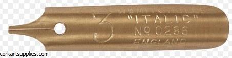 Nib Mitchell 3R Italic No 3