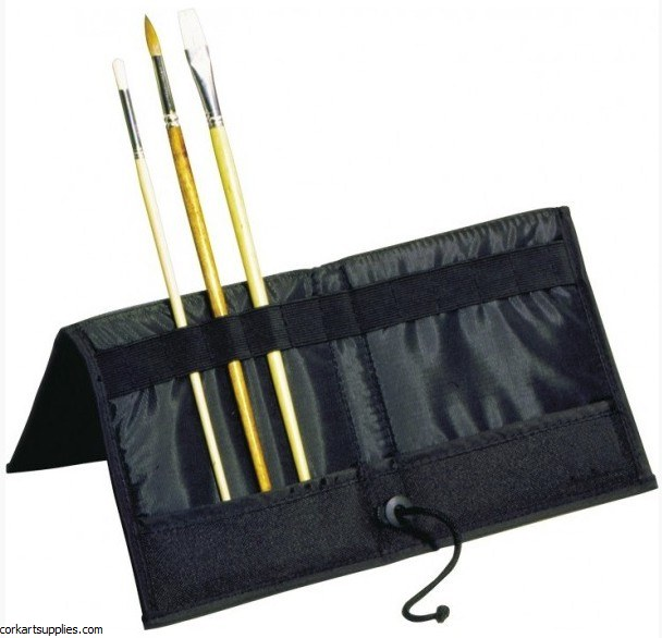Brush Wallet Easel and Holder