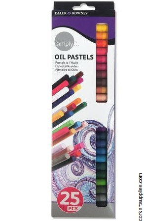Oil Pastel Simply 25pk*