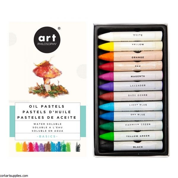 Watersoluble Oil Pastels Basic