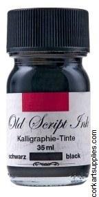 Ink 35ml Old Script Black