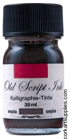 Ink 35ml Old Script Sepia Brn