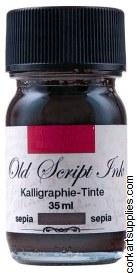 Ink 35ml Old Script Sepia Brn