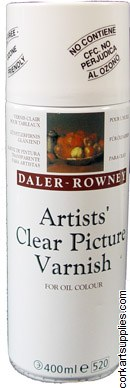 Daler Rowney Picture Varnish Aerosol 400ml
