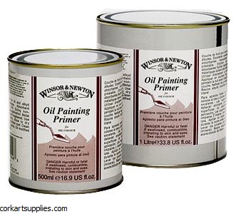 Winsor & Newton 1 Litre Oil Painting Primer