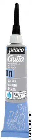 Gutta W/Base 20ml Silver
