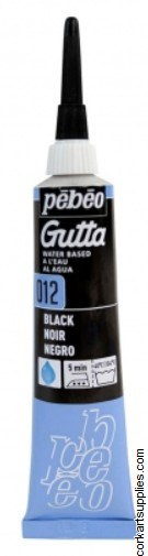 Gutta W/Base 20ml Black