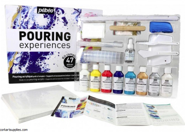 Pebeo Pouring Experience Kit 47pk
