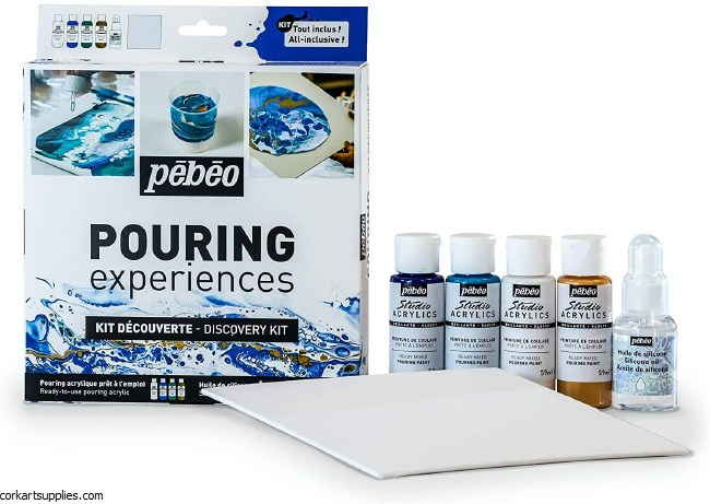 Pebeo Pouring Discovery Kit
