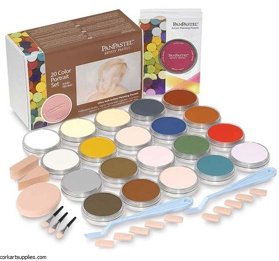 PanPastel 20pk Portrait Set^