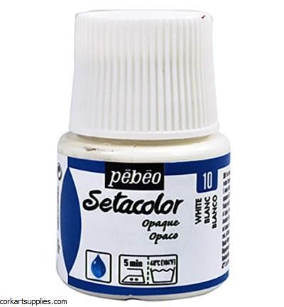 Setacolor 45ml White Opaque