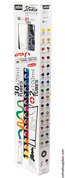 Pebeo Acryl Studio 20ml 30pk+2