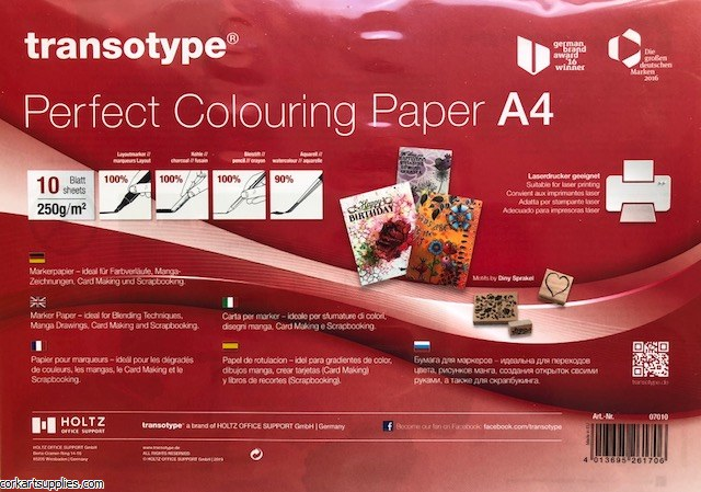 Copic A4 Perfect Colouring Paper 10pk