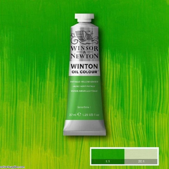 Winton 37ml Phthalo Yellow Grn