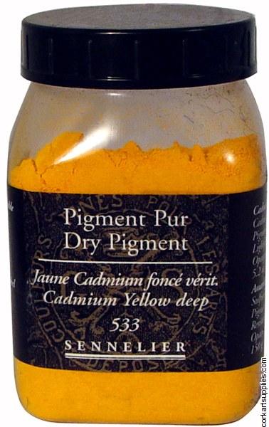 Pigment Cadmium Yellow Deep 150gm Series 4