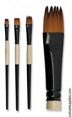 Synthetic Wave Brushes 3pk