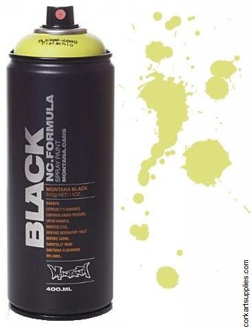 Montana BLACK Spray 400ml - Pistachio^