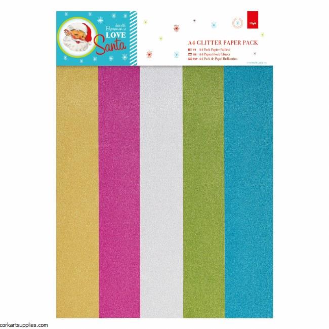 A4 Paper Pk PM Love Santa 15pk