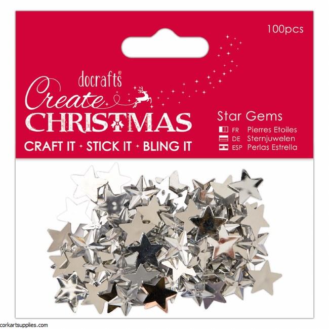 Gems Silver Star 100pk