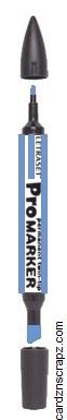 ProMarker China Blue