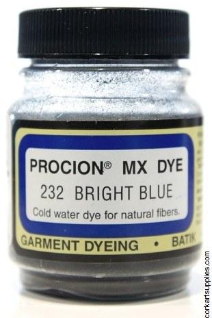 Procion 19g 232 Bright Blue