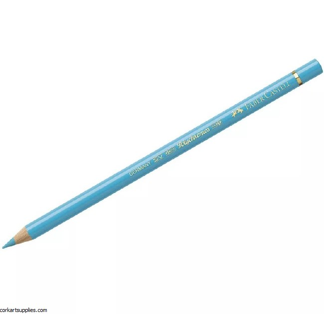 Polychromos Pencil 154 - Light Cobalt Turquoise