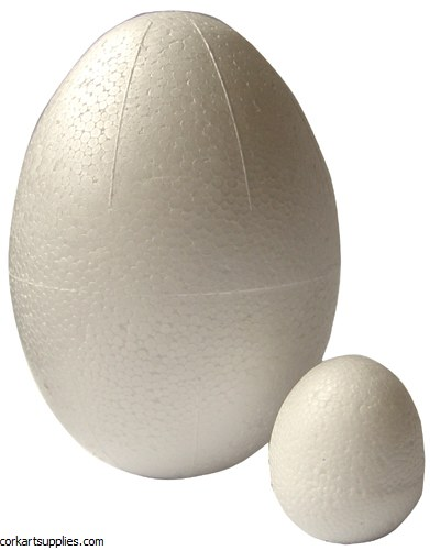 Polystyrene Egg 120x85mm Solid