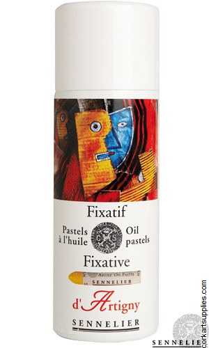 Fixative 400ml Sennelier Oil Pastel