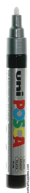 Posca Medium 2.5mm Silver