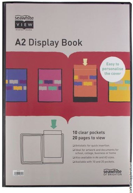 Portfolio Display Book A2 10s