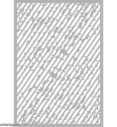 Stencil A5 Pronty Grunge 1