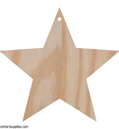 Wooden Pronty Star Ø18mm 6¾