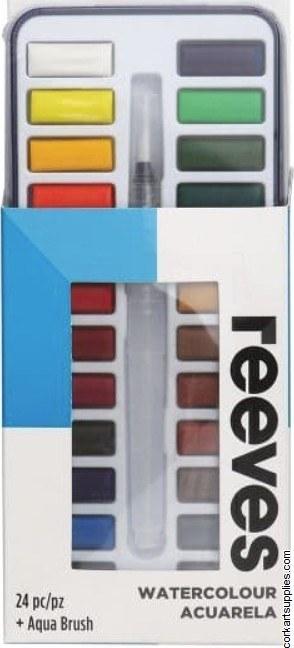 Reeves W/C Pocket Set 25pk