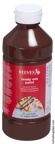 Redimix 500ml Reeves Burnt Sienna