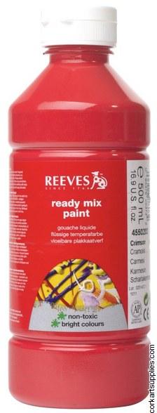 Redimix 500ml Reeves Crimson