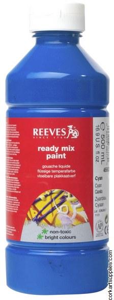 Redimix 500ml Reeves Cyan