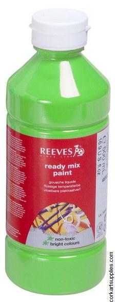Redimix 500ml Reeves Fluorescent Green