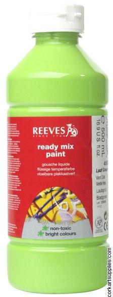 Redimix 500ml Reeves Leaf Green