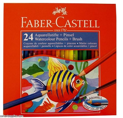 Redline Watercolour Pencils 24 Pack