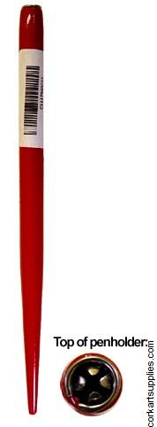 Penholder Wood Red